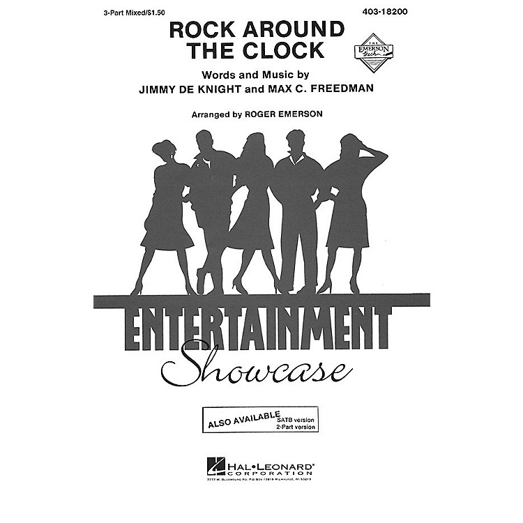 Hal LeonardRock Around the Clock 3-Part Mixed by Bill Haley and His Comets arranged by Roger Emerson