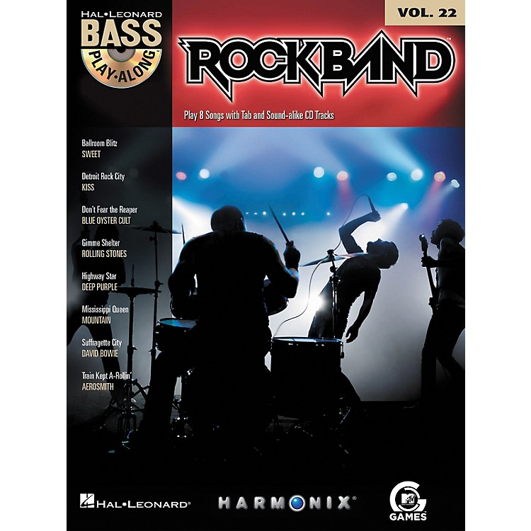 Hal LeonardRock Band - Classic Rock Edition - Bass Play-Along Volume 22 Book/CD