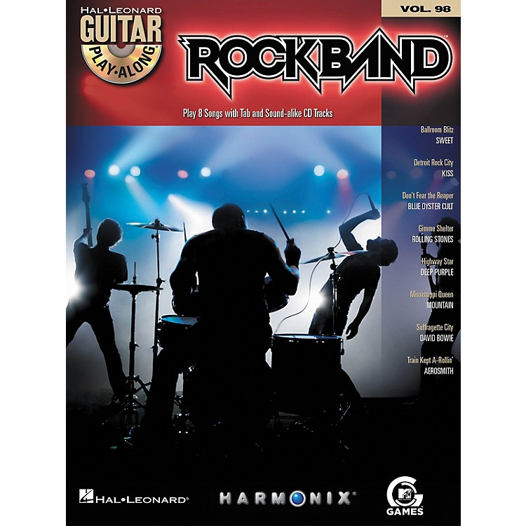 Hal LeonardRock Band - Classic Rock Edition - Guitar Play-Along Volume 98 Book/CD Set