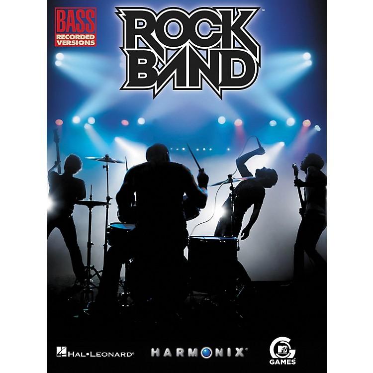 Hal LeonardRock Band Bass Tab Songbook