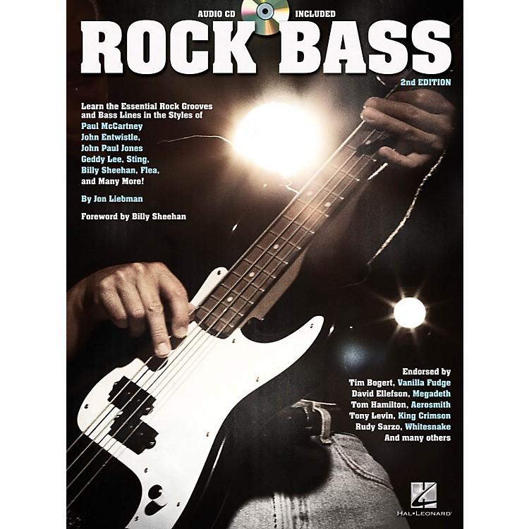 Hal LeonardRock Bass - 2nd Edition Bass Instruction Series Softcover with CD Written by Jon Liebman
