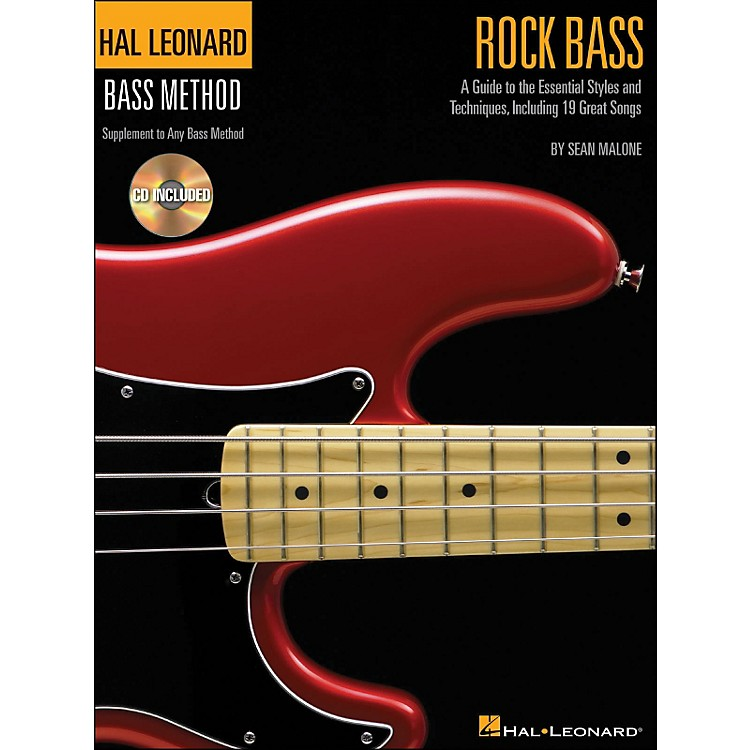 Hal Leonard Rock Bass - Hal Leonard Bass Method Supplement To Any Bass Method Book/Online Audio