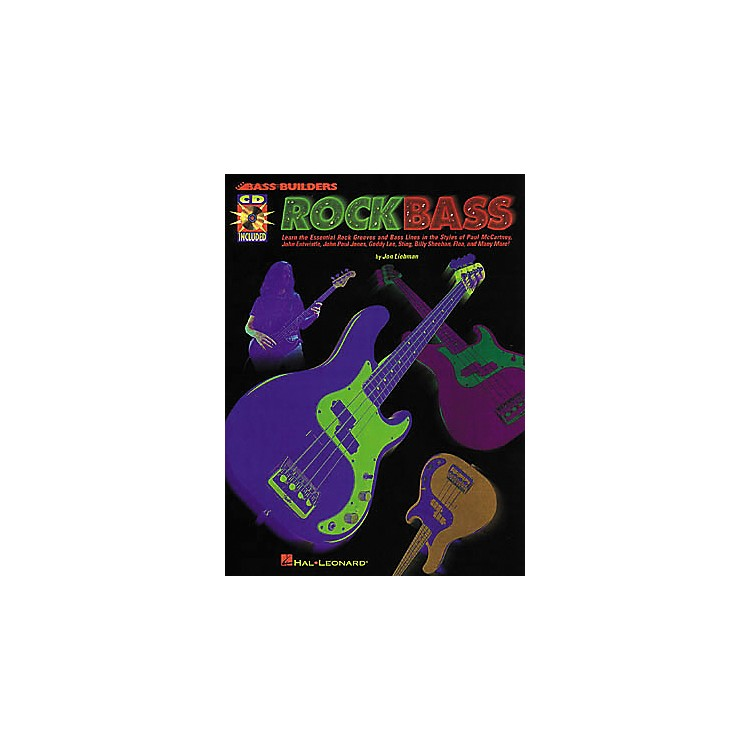 Hal Leonard Rock Bass (Book/CD)