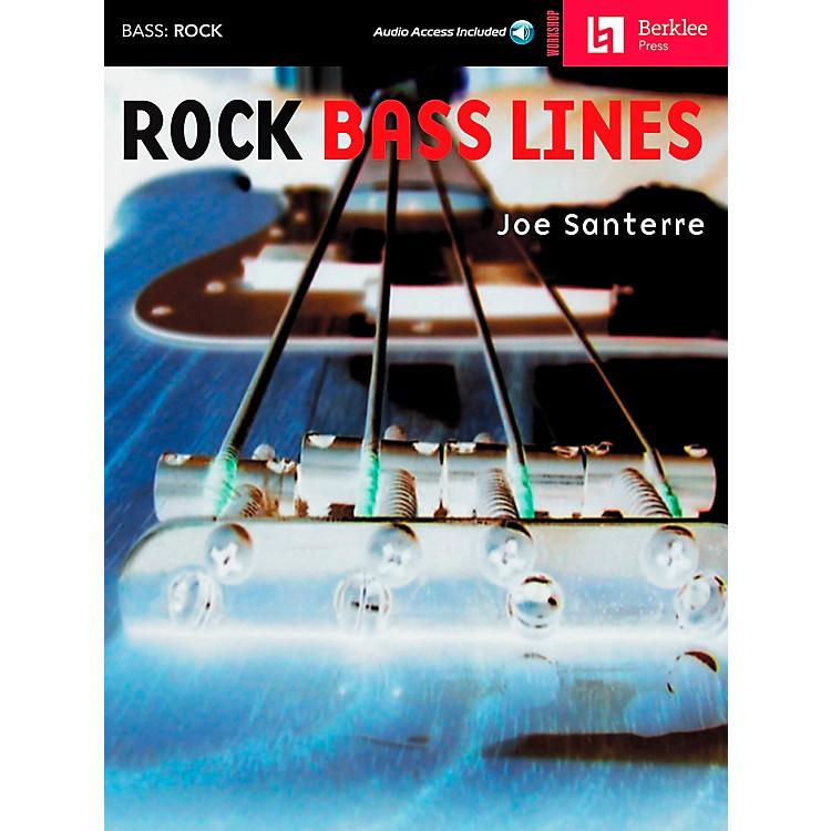 Hal LeonardRock Bass Lines Book/CD