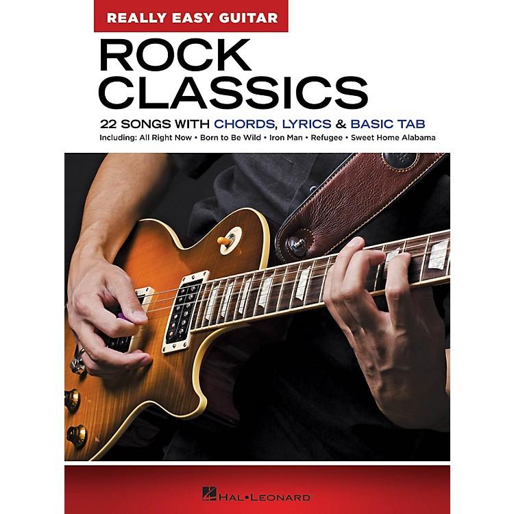 Hal LeonardRock Classics - Really Easy Guitar Series (22 Songs with Chords, Lyrics & Basic Tab)