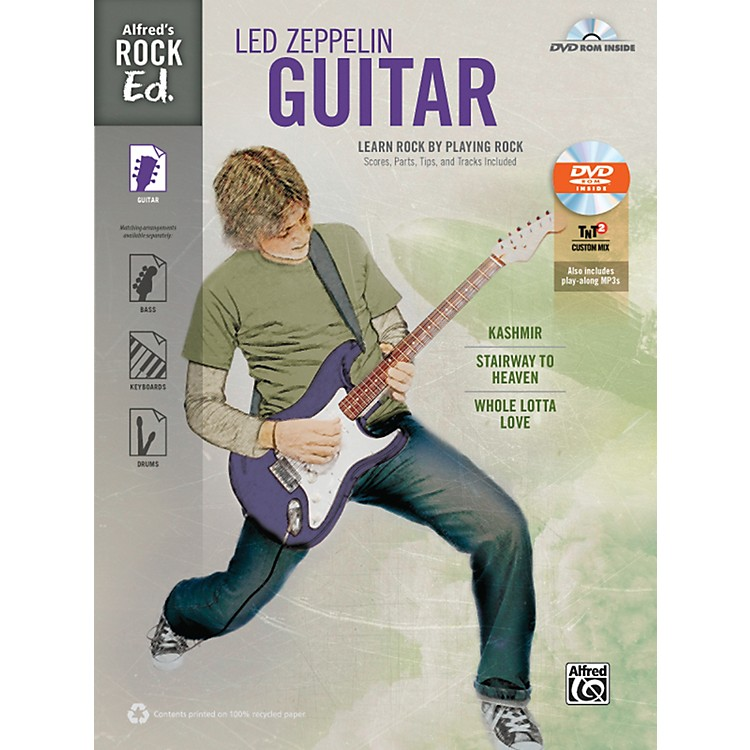 AlfredRock Ed.: Led Zeppelin Guitar Book & DVD-ROM