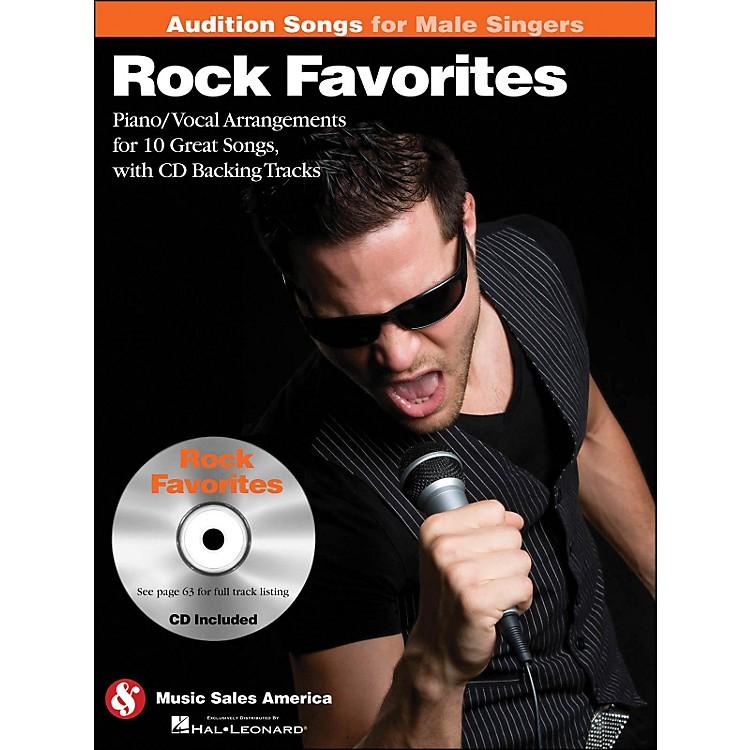 Hal LeonardRock Favorites - Audition Songs for Male Singers Book/CD