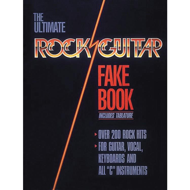 Hal LeonardRock Guitar Fake Book