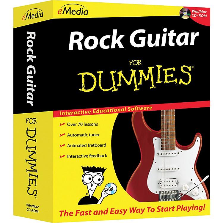 EmediaRock Guitar For Dummies CD-ROM