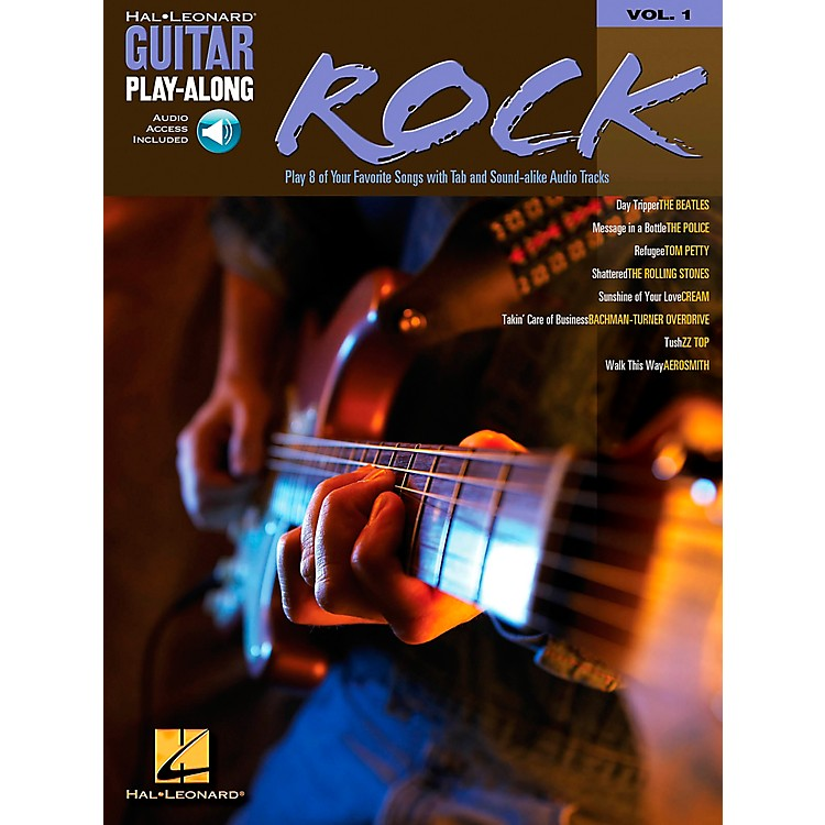 Hal Leonard Rock Guitar Play-Along Book with CD Volume 1