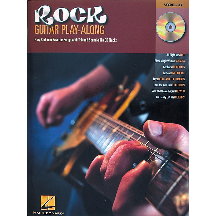 Hal Leonard Rock Guitar Play Along Series Book with CD