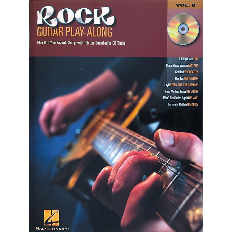 Hal LeonardRock Guitar Play Along Series Book with CD