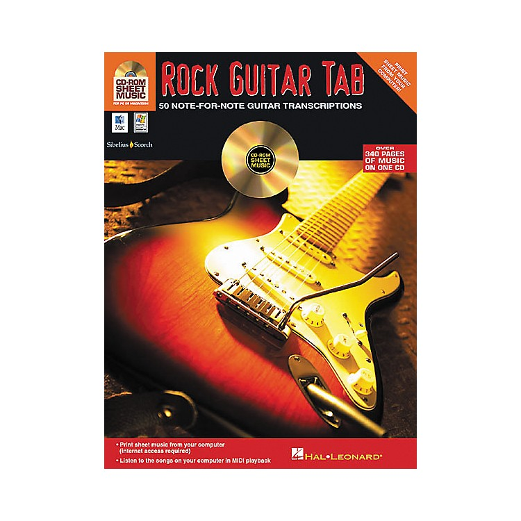 Isong Rock Guitar Tab (CD-ROM)