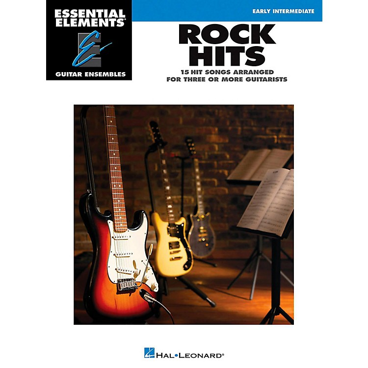 Hal Leonard Rock Hits - Essential Elements Guitar Ensembles Early Intermediate