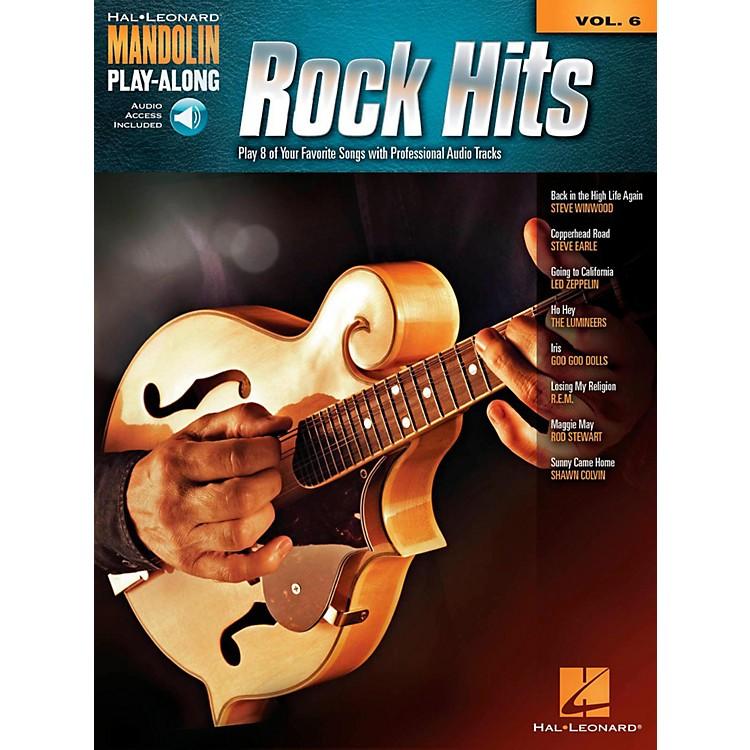 Hal LeonardRock Hits - Mandolin Play-Along Volume 6 Book/Online Audio