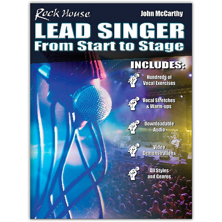 Rock HouseRock House Lead Singer - Complete Course for All Singers Book/Media Online