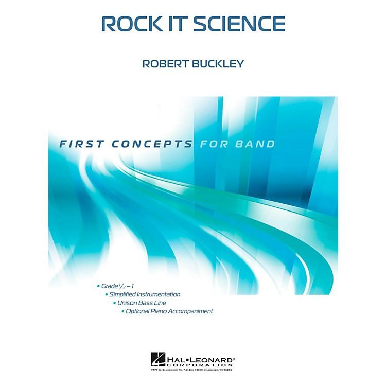 Hal LeonardRock It Science - First Concepts Concert Band Level 1