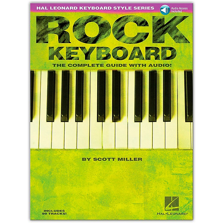Hal Leonard Rock Keyboard Style Series (Book/Online Audio)