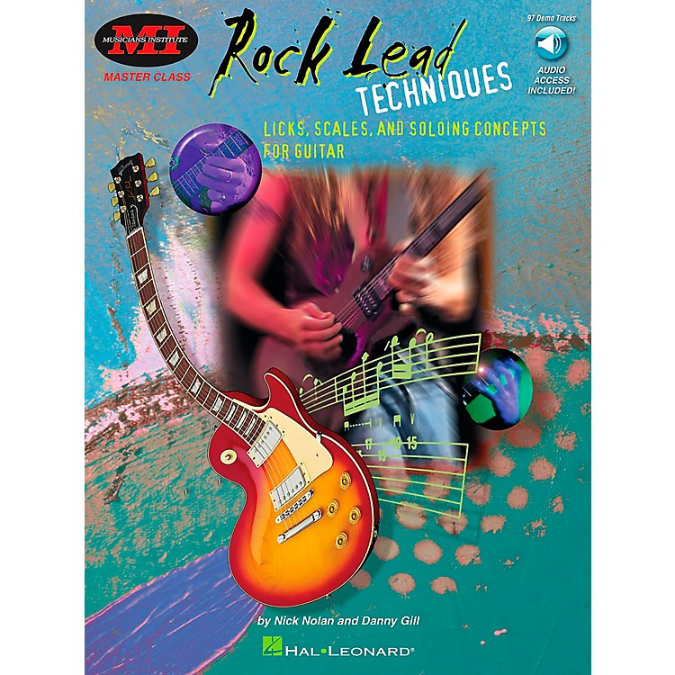 Hal Leonard Rock Lead Techniques Book/CD Package