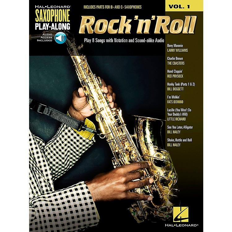 Hal LeonardRock 'N' Roll - Saxophone Play-Along Vol. 1 Book/CD