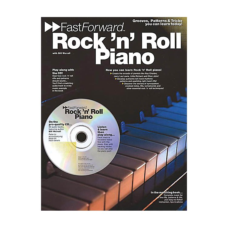 Music Sales Rock 'N' Roll Piano Music Sales America Series Softcover with CD Written by Bill Worrall