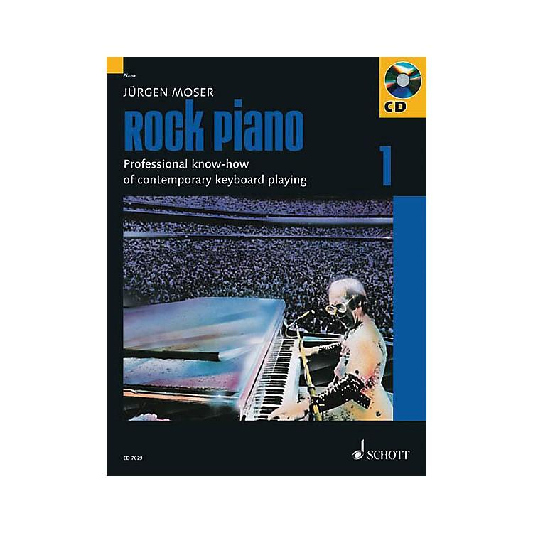 SchottRock Piano - Volume 1 Schott Series Softcover with CD