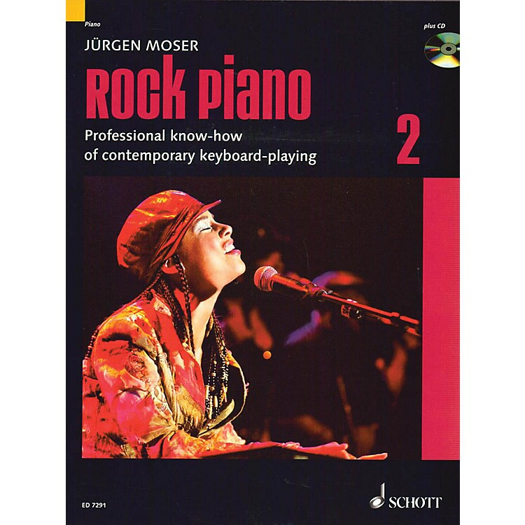Schott Rock Piano - Volume 2 (Professional Know-How of Contemporary Keyboard-Playing) Schott Series
