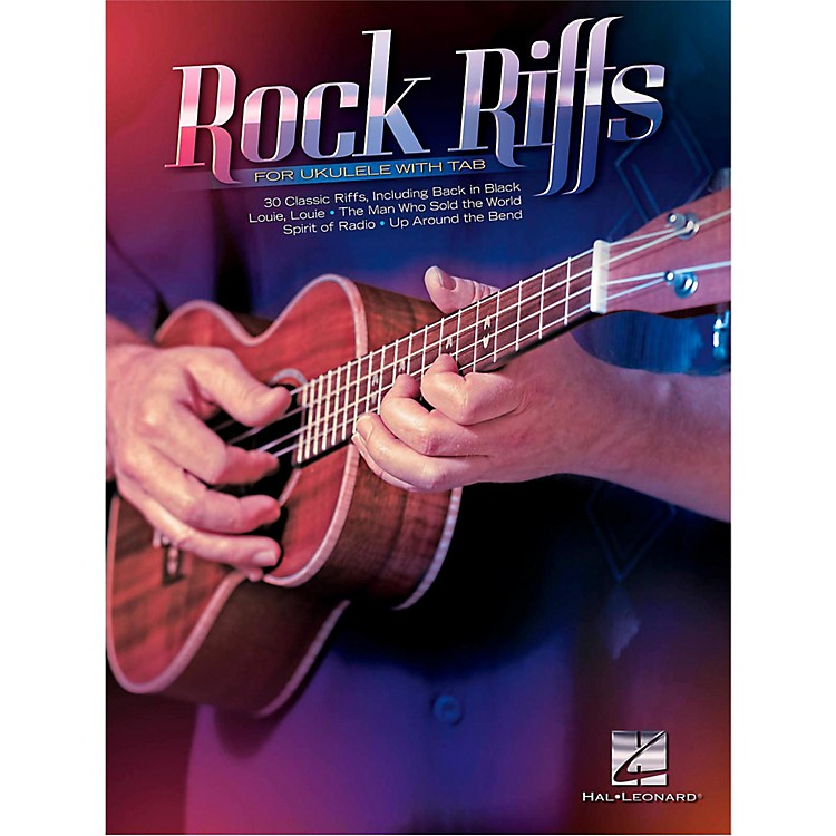 Hal LeonardRock Riffs For Ukulele (with Tab)