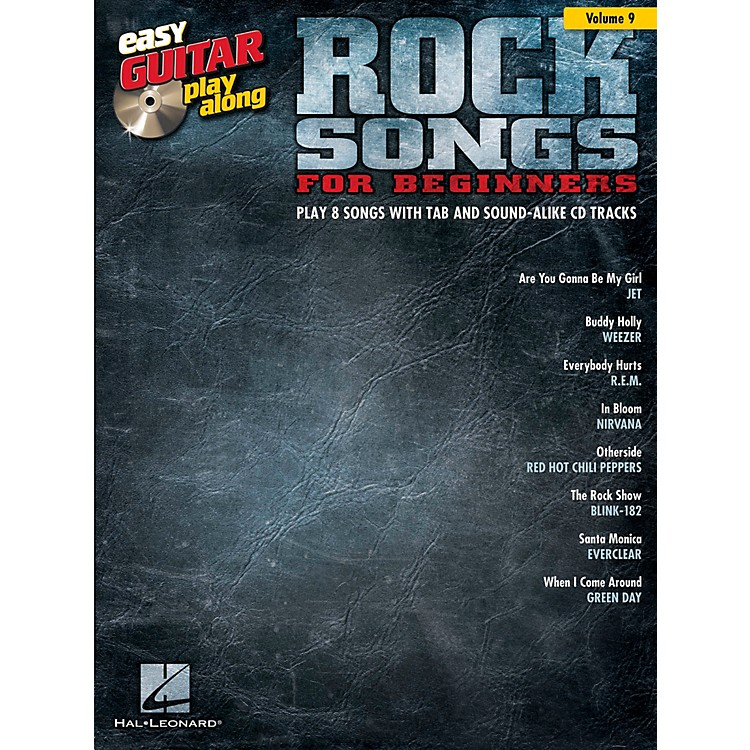 Hal Leonard Rock Songs For Beginners - Easy Guitar Play-Along Volume 9 Book/CD