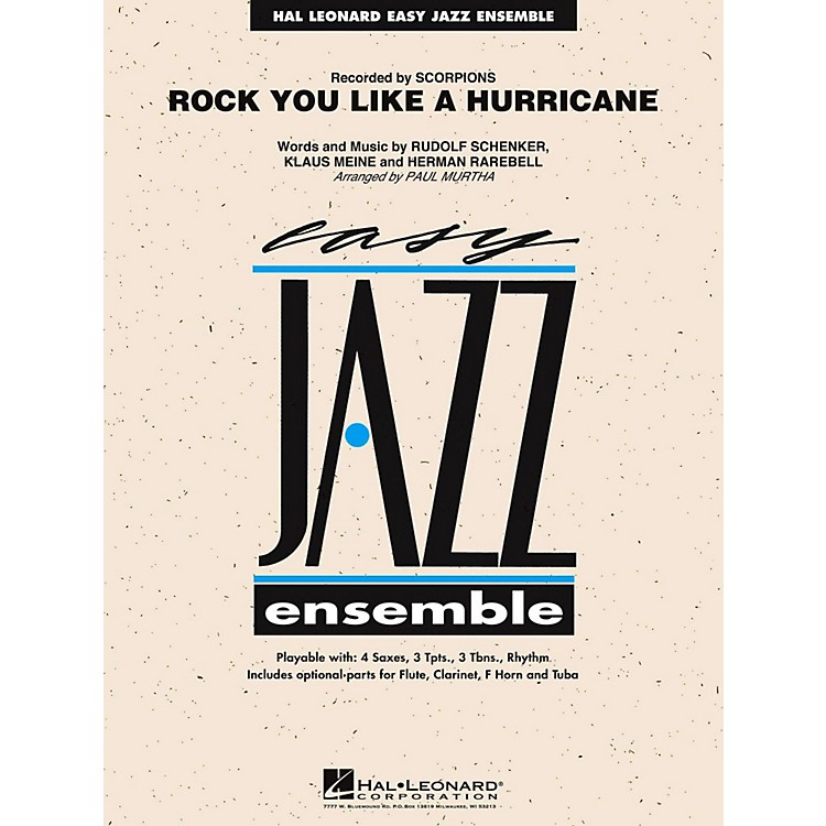 Hal Leonard Rock You Like A Hurricane Jazz Band Level 2