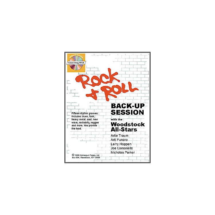 Homespun Rock and Roll Back-Up Session (Book/CD)
