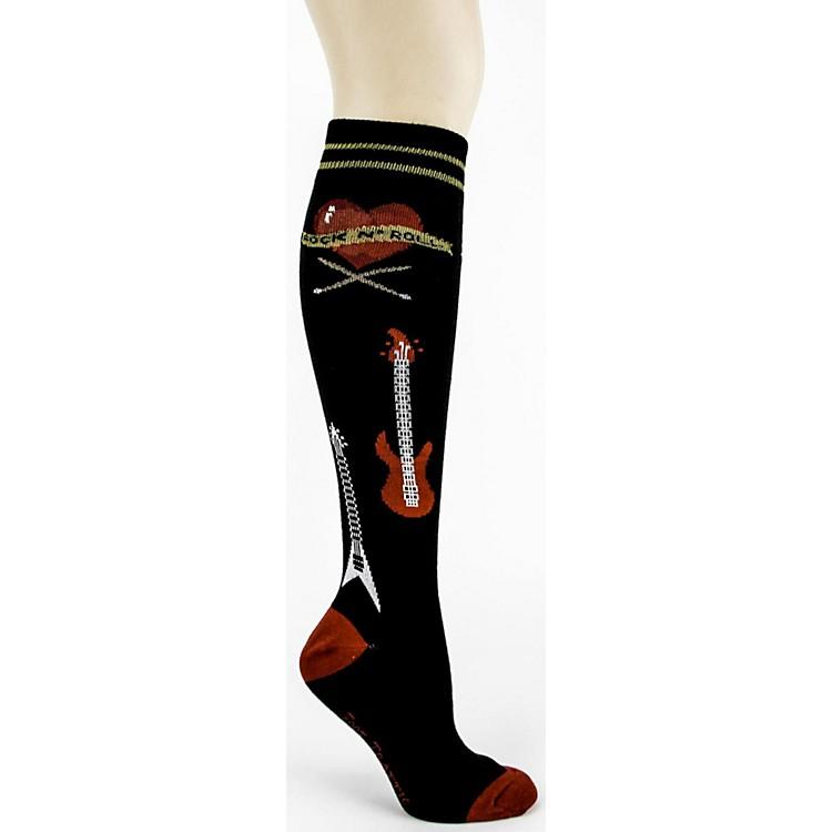 Foot TrafficRock n' Roll Knee High Socks