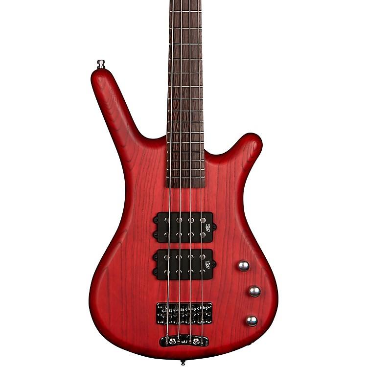 WarwickRockBass Corvette $$ Electric Bass GuitarBurgundy Red