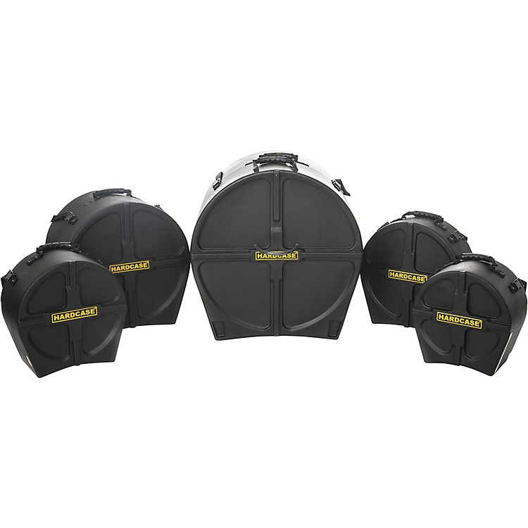 HARDCASERockFusion3 5-Piece Drum Case Set