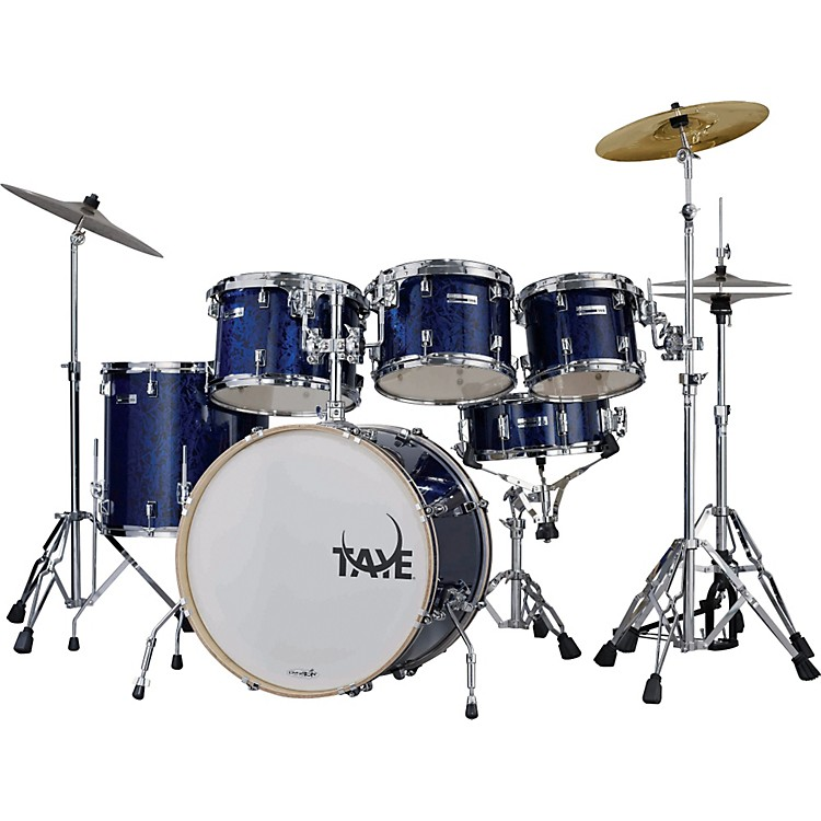 Taye Drums RockPro RP622C Limited Edition 6-Piece Drum Set Blue Graphic