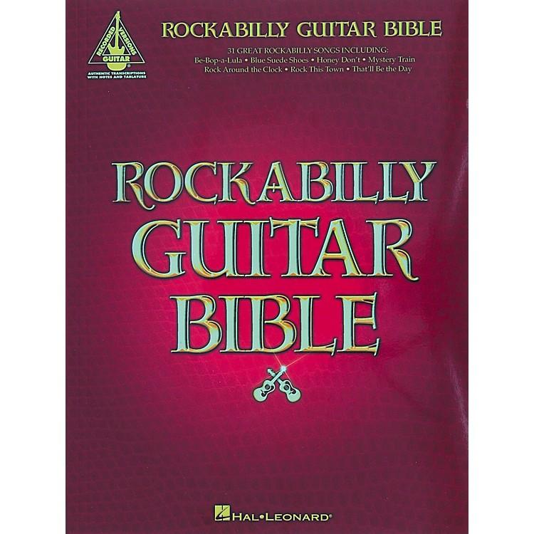 Cherry LaneRockabilly Guitar Bible Tab Songbook