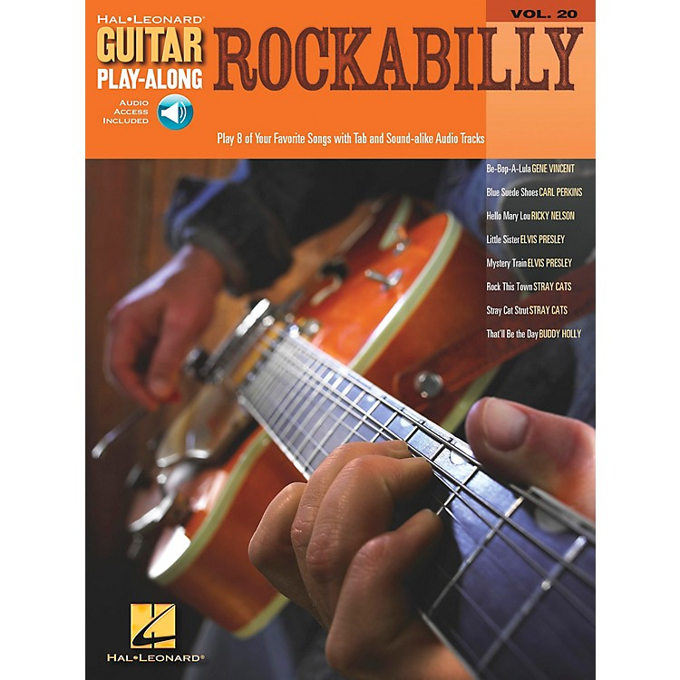 Hal Leonard Rockabilly Guitar Play-Along Series Volume 20 Book with CD