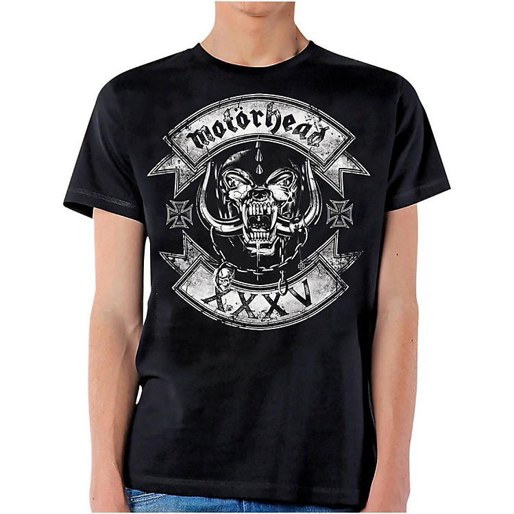 Motorhead Rockers Logo T-Shirt X Large Black