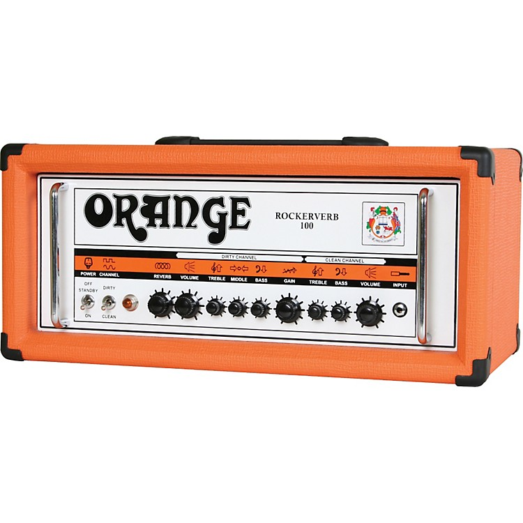 Orange Amplifiers Rockerverb 100 RK100HTC 100W Tube Guitar Amp Head