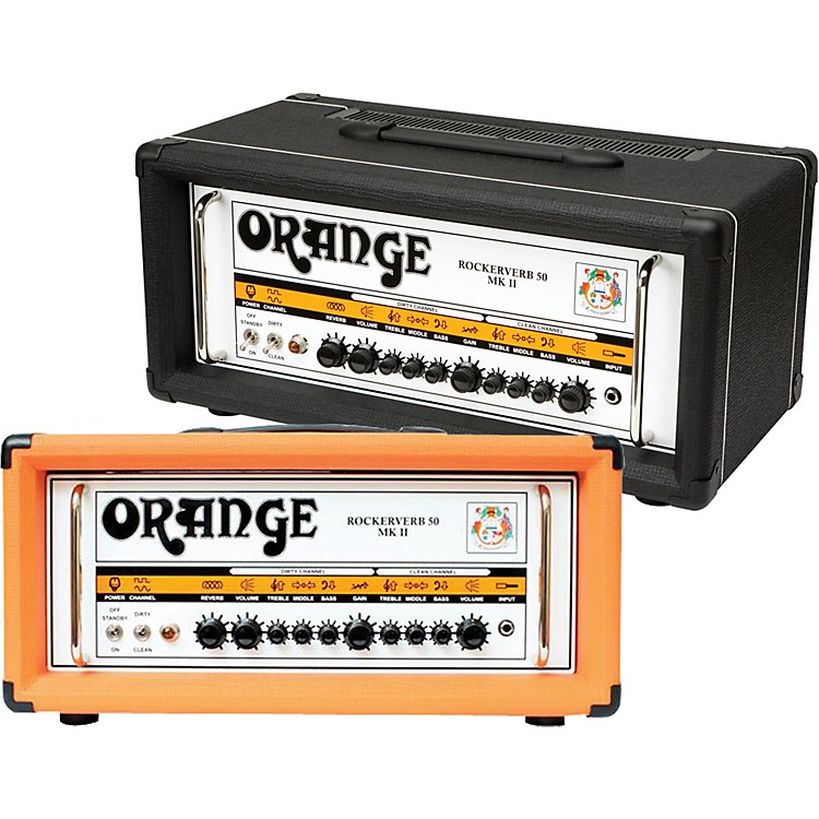 Orange AmplifiersRockerverb 50 MK II 50W Tube Guitar Amp HeadOrange