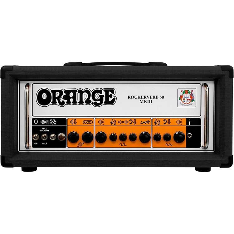Orange AmplifiersRockerverb 50 MKIII 50W Tube Guitar Amp HeadBlack