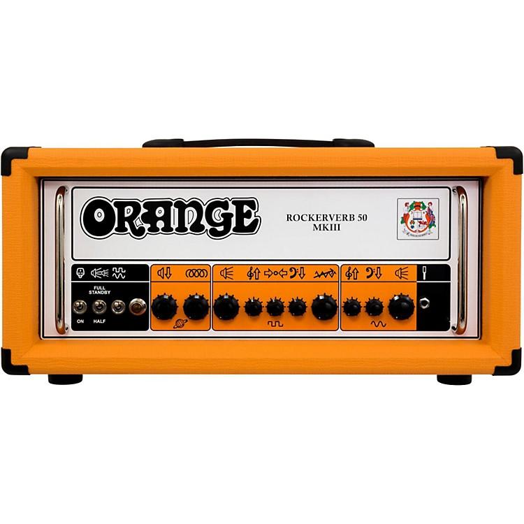 Orange AmplifiersRockerverb 50 MKIII 50W Tube Guitar Amp HeadOrange