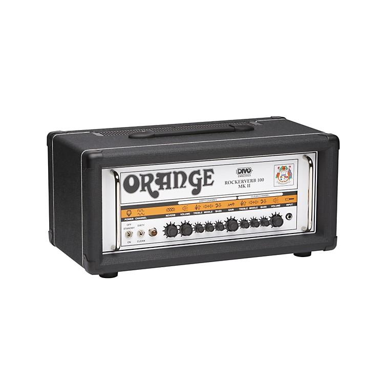 Orange AmplifiersRockerverb RK100H MKII 100W DIVO Fitted Tube Guitar Amp HeadBlack