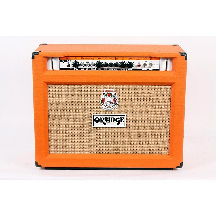 Orange Amplifiers Rockerverb RK50C MKII 50W 2x12 Tube Guitar Combo Amp Orange 888365166711