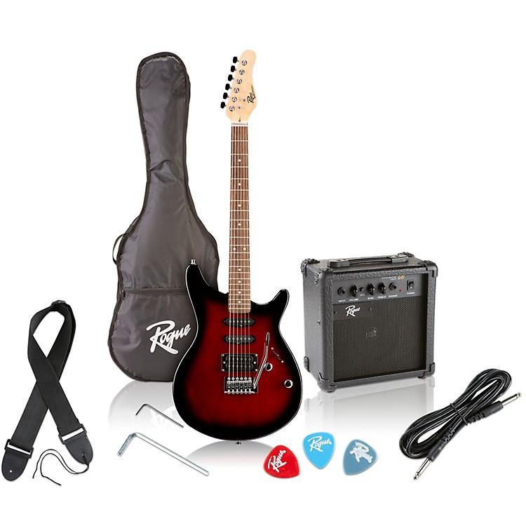 RogueRocketeer Electric Guitar PackRed Burst