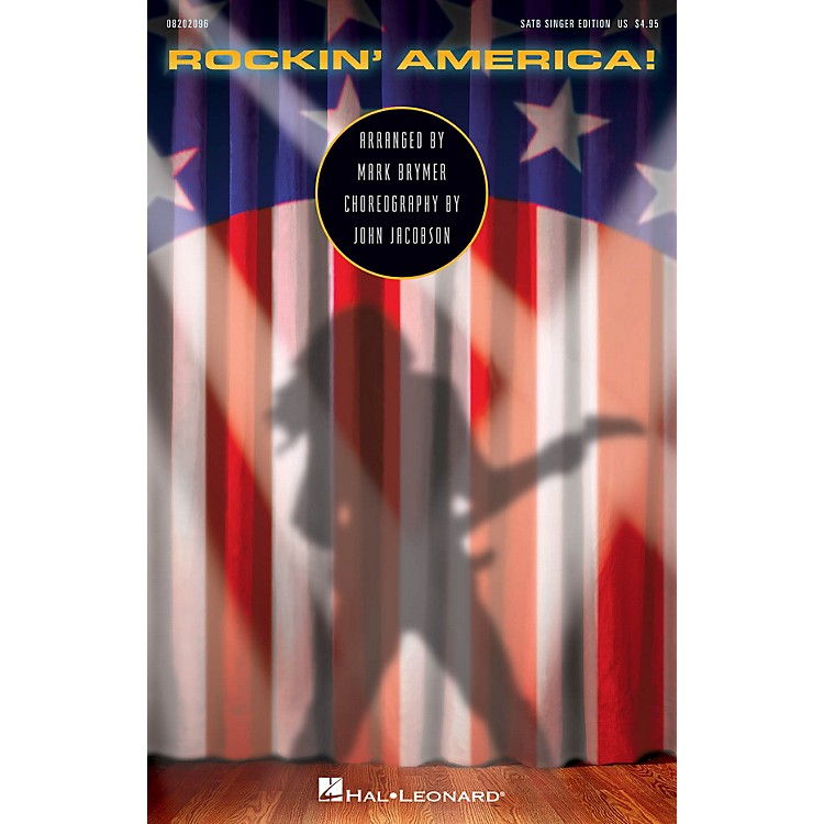 Hal LeonardRockin' America! (Choral Medley) ShowTrax CD Arranged by Mark Brymer