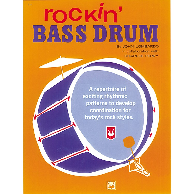 AlfredRockin' Bass Drum Book 1