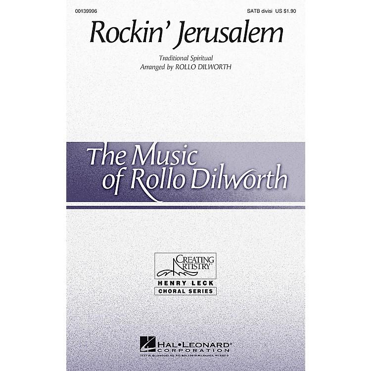 Hal LeonardRockin' Jerusalem SATB Divisi arranged by Rollo Dilworth