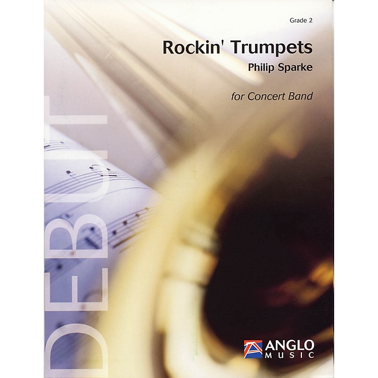 Anglo Music Press Rockin' Trumpets (Grade 2 - Score and Parts) Concert Band Level 2 Composed by Philip Sparke