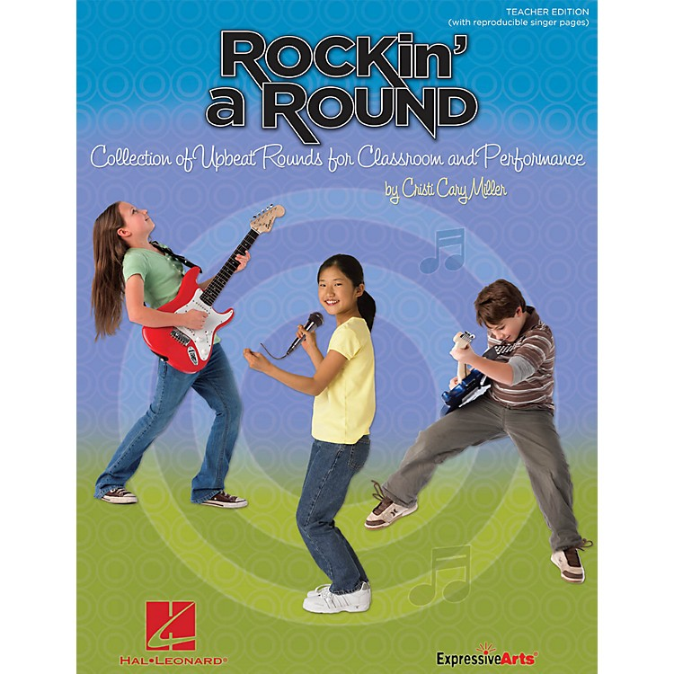 Hal Leonard Rockin' a Round - Collection of Upbeat Rounds for Classroom and Performance CD